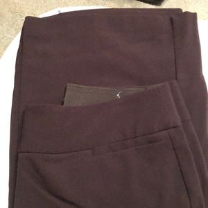 """Lane Bryant """"The Allie"""" size 14R Wide Leg Trousers"""